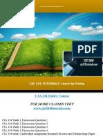 CJA 334 TUTORIALS Learn by Doing/cja334tutorials.com