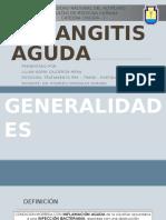 diapositivas de colangitis