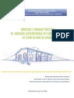 Concepção e Linguagem Projetual de Habitações Autoconstruídas Em FlorianópolisSC Um Estudo Na Barra Do Sambaqui - Adriana Sales Cordeiro