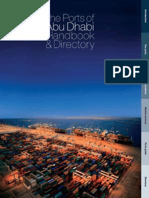 abu-dhabi-ports-directory pdf   United Arab Emirates   Water