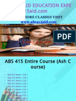 ABS 415 AID TEACHING EFFECTIVELY / abs415aid.com