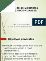 Reunión Md Urbanos- Rurales- Blog