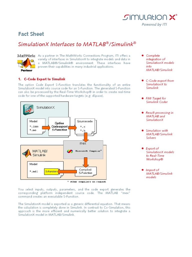 Interface MATLAB-Simulink | Matlab | Simulation