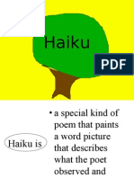 Poetry Haiku