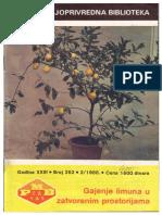 Gajenje Limuna u Zatvorenim Prostorijama