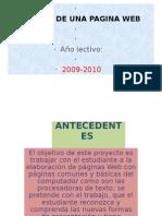 Proyecto Pagina Web