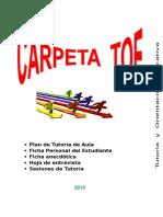CARPETA PRIMARIA TUTORÍA