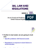 Recent Trends and Problems of the Global Financial Regulations