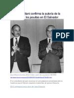 El MUNDO ES - Alfredo Cristiani Confirma La Autoría de La Matanza de Los Jesuitas en El Salvador - 05 06 2016