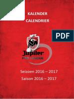 Kalender 1A 2016-2017