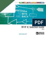 Ad RF if IC ADI Selection Guide