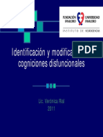 Reestructuracion Cognitiva - Posgrado 2011 V
