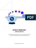 Active WebCam - Software Manual