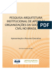 FGV 2013 Arquitetura Institucional