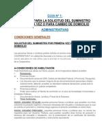 Guia Nº 1-Condiciones Administrativas y Tecnicas Nuevas Conexiones-cooperativa