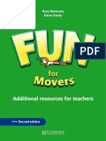 Cambridge - FUN for Movers Teacher's Book 2nd Edition