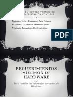 Requerimientos Mínimos de Hardware