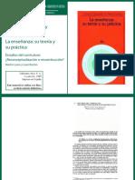 Gimeno-Sacristan-yPerez-Gomez La Ensenanza Su Teoria y Su Practi