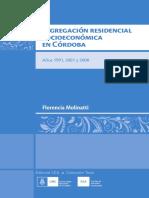 Cambios en los patrones de segregación residencial socioeconómica en la ciudad de Córdoba