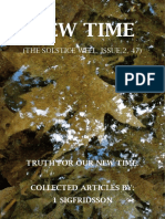 NEW TIME (THE SOLSTICE WELL) ISSUE II, 47 - 1 SIGFRIDSSON