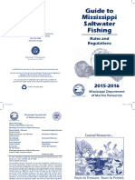 2015-16 Guide to Mississppi Saltwater Fishing
