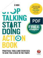 Stop Talking Start Doing Action Book Sample Chapter