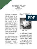 application of dc shunt motor