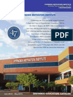 HMI Distance Education Catalog