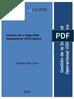 GSO Básico E-learning - Programa Del Curso