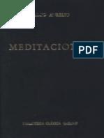 Marco Aurelio-Meditaciones- EDITORIAL GREDOS
