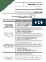 F-mg-010 Check List de Herramientas Manuales