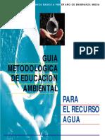 Guía Metodologica para Educación Ambiental-Recurso Agua