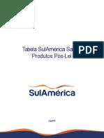 Plano de Saúde Sulamerica Tabela PME 2016