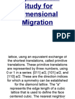 Hypernuclear Study for Dimensional Migration