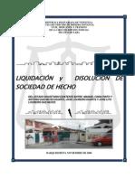 Informe de Partición Shelterca BAJA