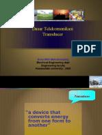 Dasar telekomunikasi transducer_novy