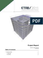 Design of Six storey building steel composite building using ETABS