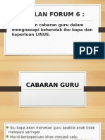 ISU LINUS - CABARAN GURU