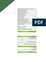 Design Mix Proportion - ACI Method