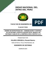 DISEÑO DE ESTRATEGIAS DE COMUNICACIÓN Y CONTROL DE UN SISTEMA LOGISTICO BASADO EN EL MODELO DE SISTEMAS VIABLES EN LA EMPRESA GESA CENTRO S.A.C.tica