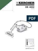 Manual DE4002 KARCHER