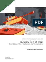 Information at War From China s Three Warfares to Nato s Narratives PDF
