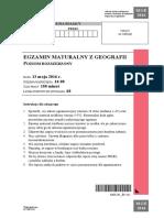 Matura 2016 - geografia - poziom rozszerzony - arkusz maturalny (www.studiowac.pl)