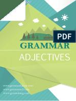 Adjectives Menurut Grammar Bahasa Inggris