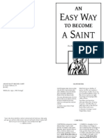 Easy Way to Become a Saint