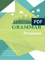Pronouns Menurut Grammar Bahasa Inggris