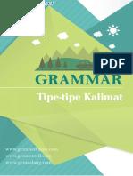Tipe Tipe Kalimat Menurut Grammar Bahasa Inggris