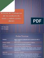 (BASC) Sistema de Evaluación de La Conducta de Niños y Adolescentes