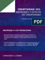 Taller de Creatividad -Introduccion-101