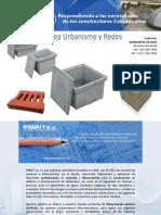Catálogo FIBRIT Línea Urbanismo y Redes